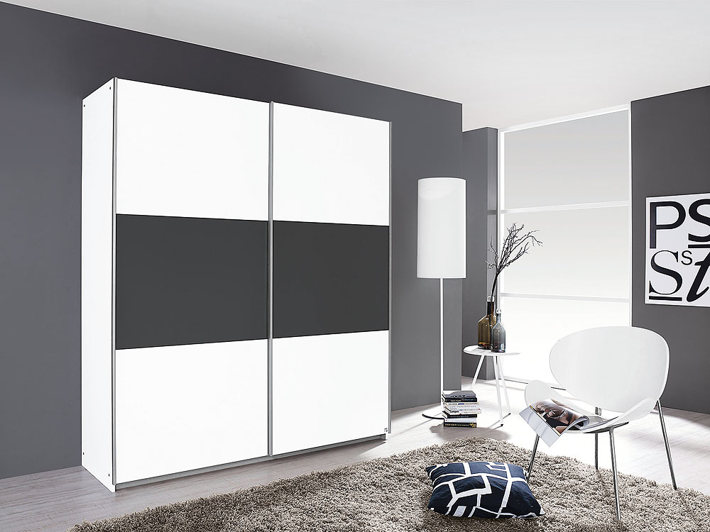 kleiderschrank nelas rolli sb m belmarkt ihr k chen. Black Bedroom Furniture Sets. Home Design Ideas
