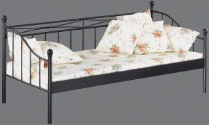 Tagesbett Linda, schwarz