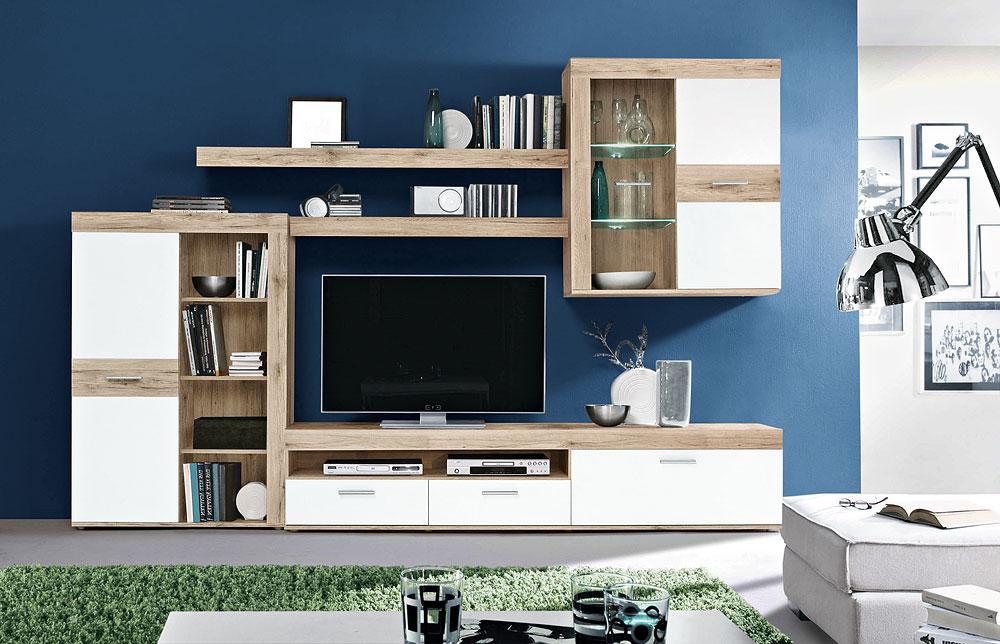 Wohnwand Zumba - Rolli SB-Möbelmarkt - Ihr Küchen- und