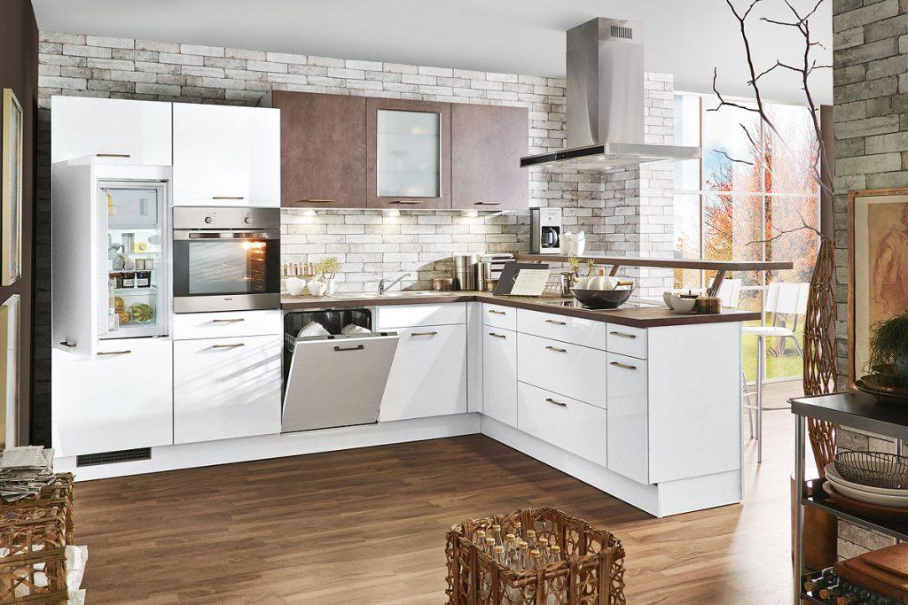 Einbauküche susan inklusive extra viel stauraum weiterlesen küche cora173 günstig bei rolli sb küchen und möbelmarkt