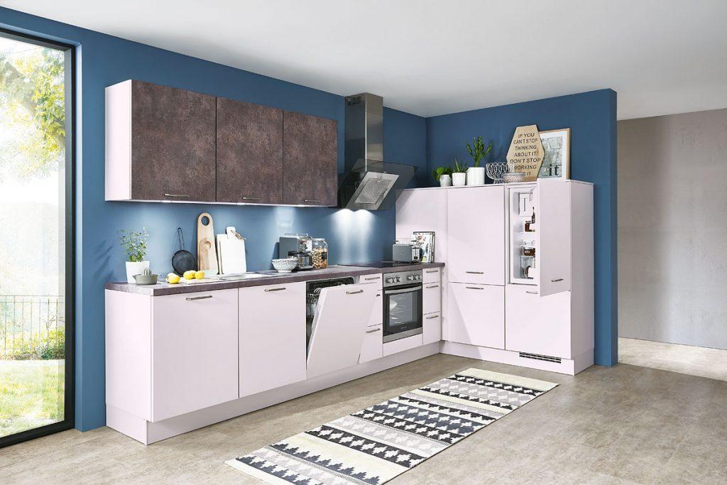 Einbauküche speed259 einbauküche seidengrau rusty plates weiterlesen einbauküche laila günstig bei rolli sb küchen und möbelmarkt 65604 elz