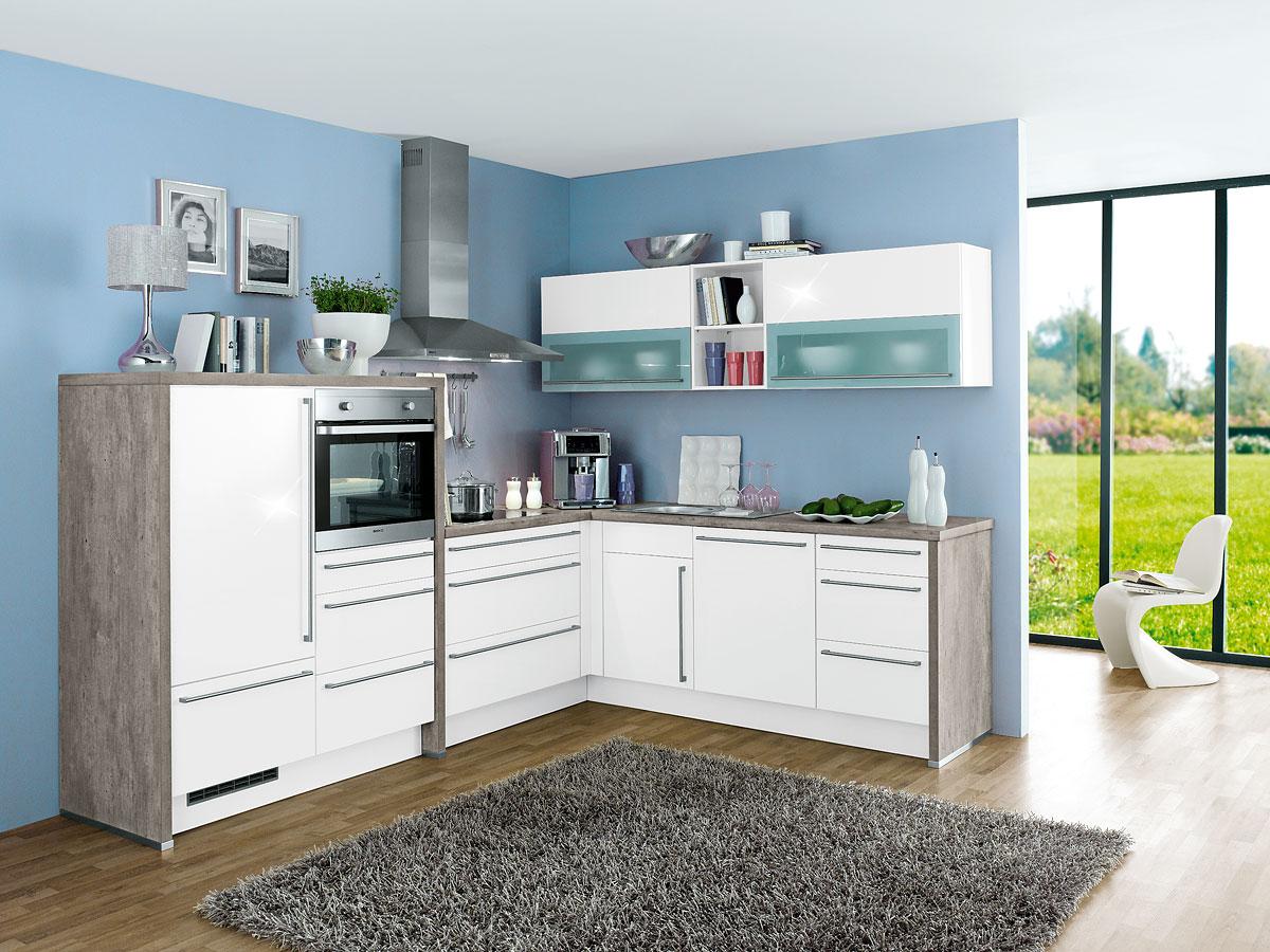 Winkelküche Gloriette - Rolli SB-Möbelmarkt - Ihr Küchen ...