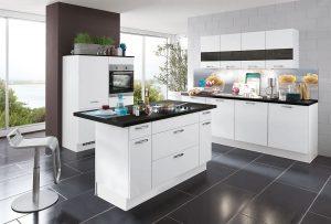 Schicke Einbauküche Speed239 - günstig bei Rolli SB Küchen- und Möbelmarkt, 65604 Elz bei Limburg